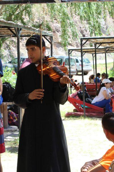 con violin